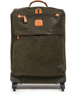 Life Olive 4 Wheel 65cm Soft Medium Suitcase