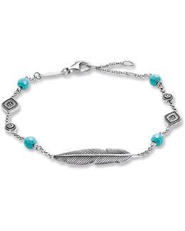 Dreamcatcher Ethno Feather Bracelet