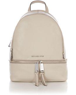 Rhea Zip Neutral Medium Backpack