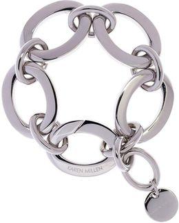 Silver Custom Chain Bracelet