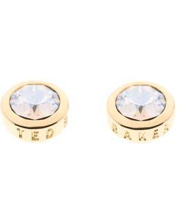 Sinaa Swarovski Crystal Stud Earrings