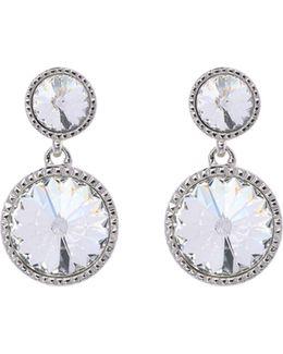 Ronda Crystal Drop Earrings