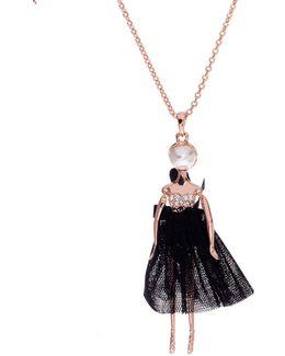 Bijou Pave Ballerina Pendant