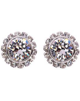 Sully Crystal Daisy Stud Earring