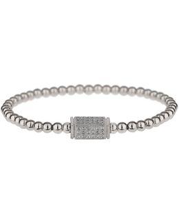 Fine Cubic Cylinder Elastic Bracelet