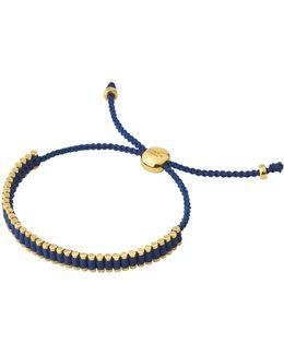 18kt Gold Vermeil & Navy Mini Friendship