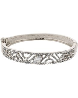 S Dsign Filigree Cubic Cuff Bracelet