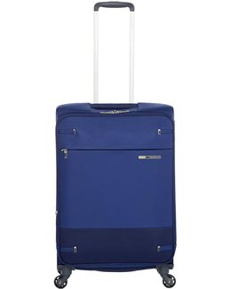Base Boost Blue 4 Wheel 66cm Medium Suitcase