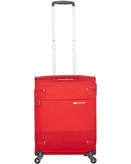 Base Boost Red 4 Wheel 66cm Medium Suitcase