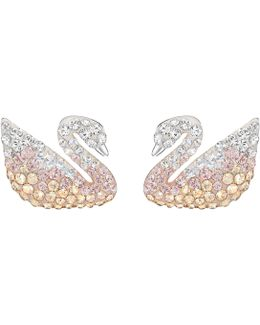 Iconic Swan Earrings