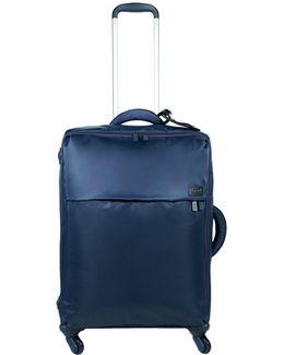 Original Plume Navy 4 Wheel Soft Medium Suitcase