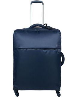 Original Plume Navy 4 Wheel Soft Large Suitcase