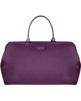 Lady Plume Purple Large Weekend Bag
