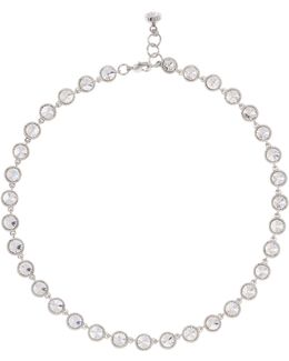 Rosele Rivoli Crystal Single Row Necklace