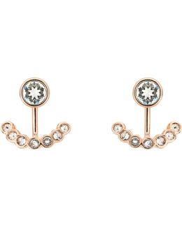 Coraline Concentric Crystal Ear Jackets