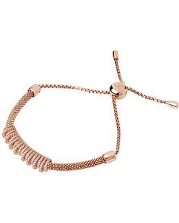Starlight Rose Gold Crown Bracelet