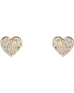 Eb1417c Heart Earrings