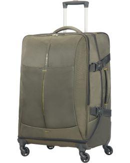 4mation Casual Olive 4 Wheel Medium Duffle Case