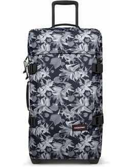 Tranverz Medium Black Jungle Wheeled Suitcase