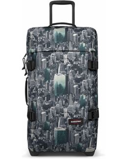 Tranverz Small Escaping Pines Wheeled Suitcase