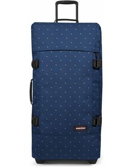 Tranverz Small Dot Blue Wheeled Suitcase