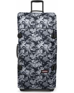 Tranverz Large Black Jungle Wheeled Suitcase