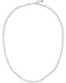 Akira Silver Peek A Bow Chain Necklace