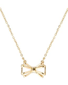 Signy Gold Sweetie Bow Pendant