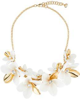 Bao Gold Large Blossom Necklace