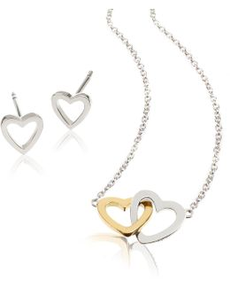 Vd001 Ladies Necklace And Earring Set
