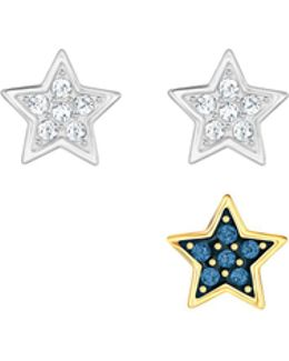 Star Pierced Earring Set