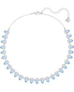 Gallery Pear All-around Necklace, Blue