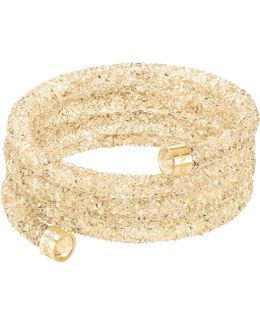 Crystaldust Bangle, Gold