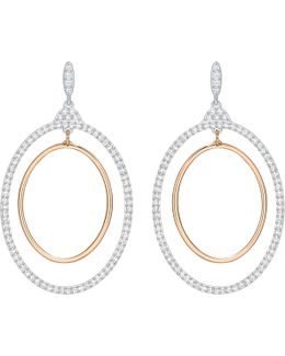 Gilberte Hoop Pierced Earrings