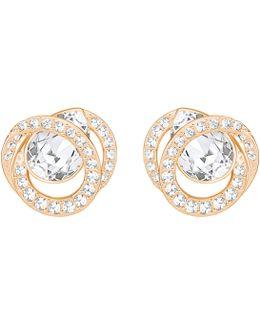 Generation Crystal Pavé Stud Earrings