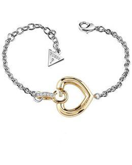 Gisèle Ubb83007-l G Heart Bracelet
