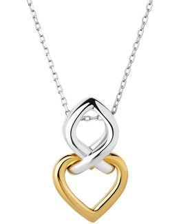 Infinite Love Silver & Gold Necklace