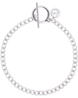 Quantum Swarovski Crystal T-bar Chain Bracelet