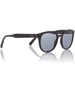 Black Pr 13ts Square Sunglasses