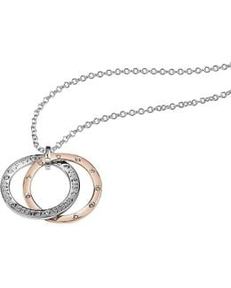 E-motions Ubn83102 Circle Charm Necklace