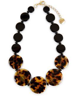 Tabitha Flat Bead Necklace