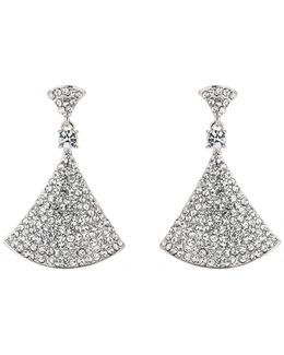 Bell Design Cubic Embed Drop Earring