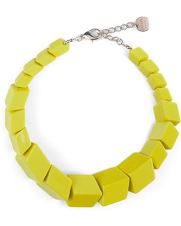 Renee Resin Cube Necklace