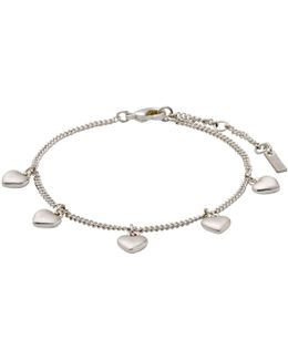 Sophia Silver Plated Bracelet