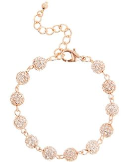 Elva Sparkle Ball Bracelet