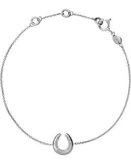 Ascot Sterling Silver Horseshoe Bracelet