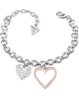 Heart In Heart Bracelet