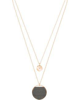 Ginger Pav Multi-strand Pendant Necklace