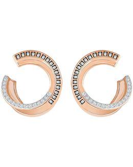 Crystal Hero Hoop Earrings