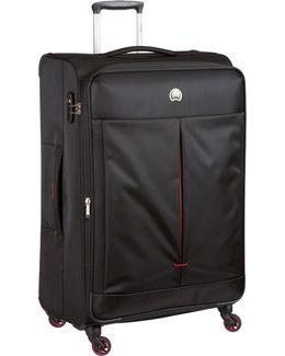 Air Adventure 78cm Large Black Suitcase